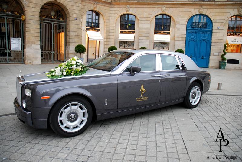 location rolls royce phantom - Location Rolls Royce Mariage